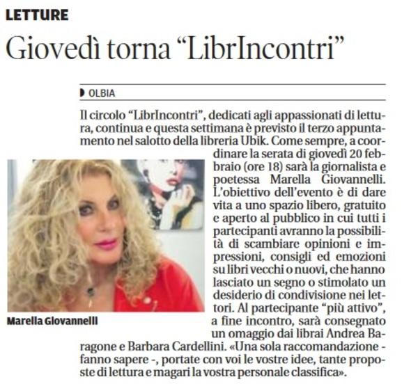 La Nuova Sardegna 18-02-2020